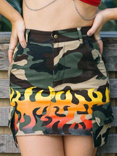 Formation Mini Skirt