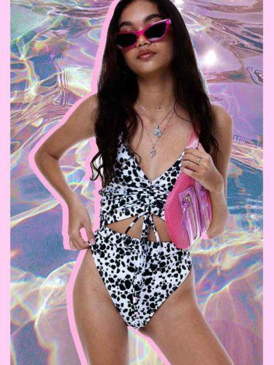 No Filter Swimsuit – Dalmatian (BALI SHOP)