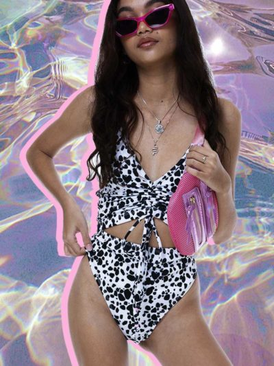No Filter Swimsuit – Dalmatian