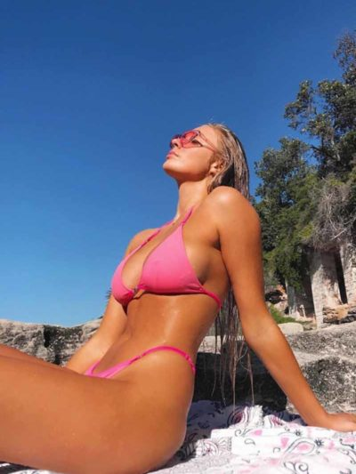Me Julie Bikini Bottom – Pink (BALI SHOP)